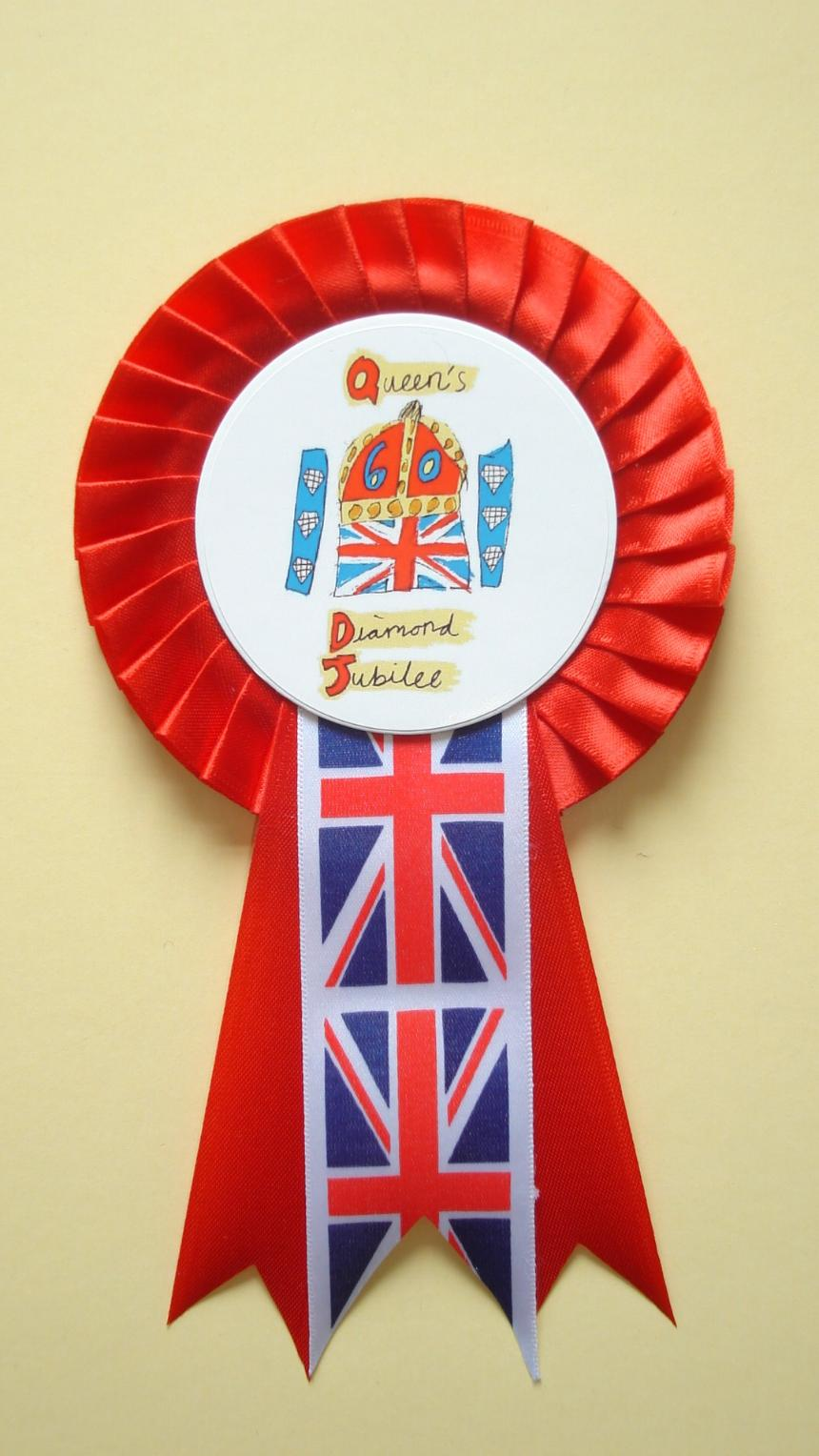 Our Diamond Jubilee Rosette